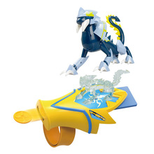 New Fashion Magic Crystal Hunter Toy Exquisite Launcher Transformer Funny Luminous Music Suitable for Children and