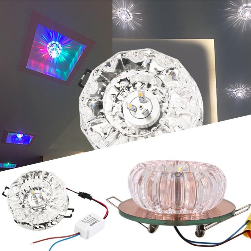 LED Crystal Aisle Lamp Ceiling Light Hallway Corridor Lighting Fixture Household lan mu led ceiling lamp octopus light