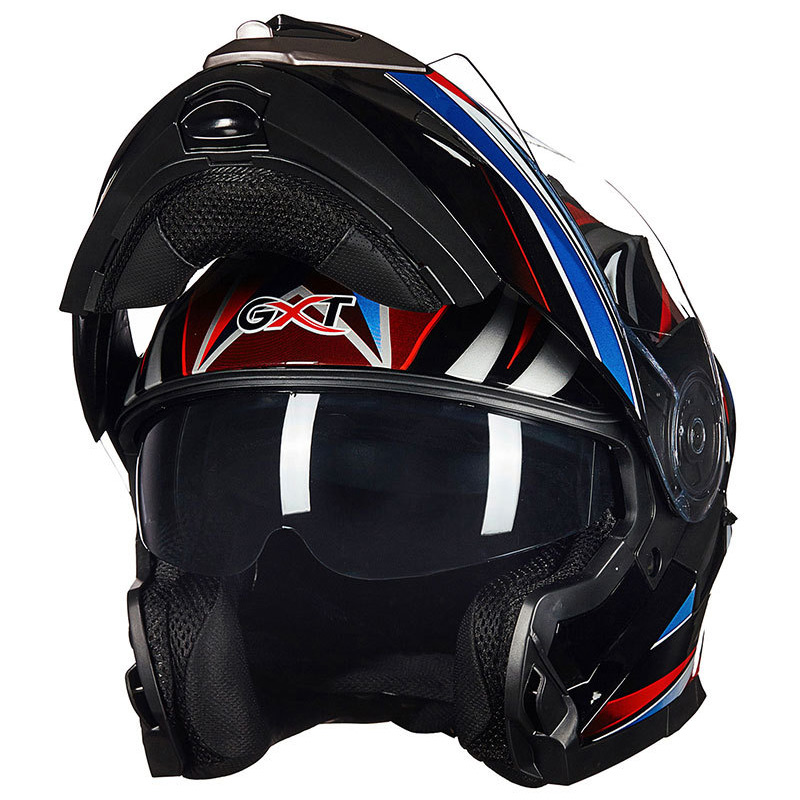 High Quality Vcoros Flip Up Motorcycle Helmet Modular Double shield visor Racing motorbike Full Face Helmet Safe moto helmets 2017 new ece certification ls2 motocross motorcycle helmet ff352 full face motorbike helmets made of abs and pc silver decadent