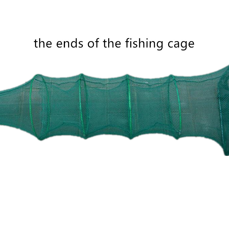 10m 33sections 20holes fishing cage shrimp cage fishing network rede de pesca outdoor crab trap tool fish trap Crayfish cage in Fishing Net from Sports Entertainment
