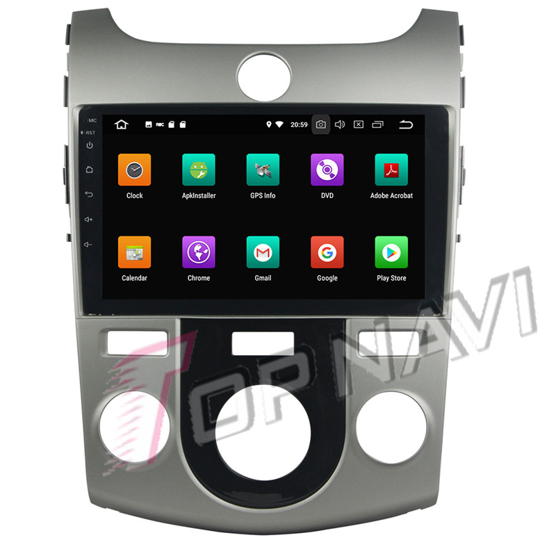 car android 1 din For KIA Cerato 2010 Manual