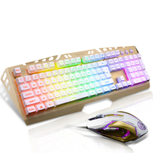 Gaming Cool Keyboard Mouse Combos Excessive Operate 1000 DPI USB Ports Multipurpose Gamer Wired Keyboard and Mouse