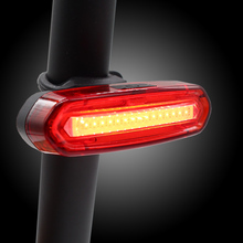 цена на Bike Tail Light USB Rechargeable for MTB Road Bicycle Rear Back Light Waterproof Night Cycling safety warning LED Lamp TL2251