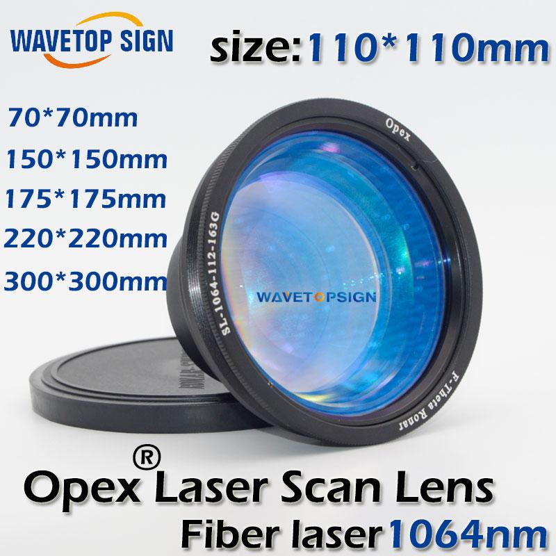 все цены на 1064nm laser scan lens 70*70mm 110*110mm 150*150mm 220*220mm fiber laser yag laser mark machine using.good quality wavelength B онлайн
