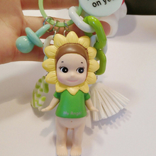 10 styles Sonny Angel Key Buckle Car Pendant Animal Plant Baby Action Figure Models Building Kits Toys For Children Christmas