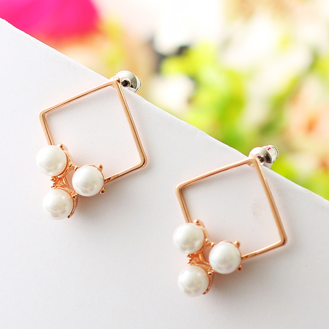 Wedding Earrings Korean Fashion Statement Online Ping India Studs Yy0316 Abc
