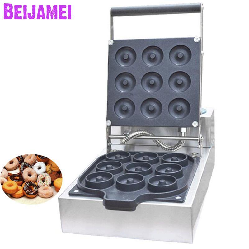 BEIJAMEI Лидер продаж мини прибор для приготовления пончиков Электрический аппарат для коммерческого использования пончик вафельная машина ц