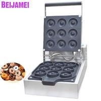 BEIJAMEI hot selling mini doughnut maker machine commercial electric donut waffle making machine price