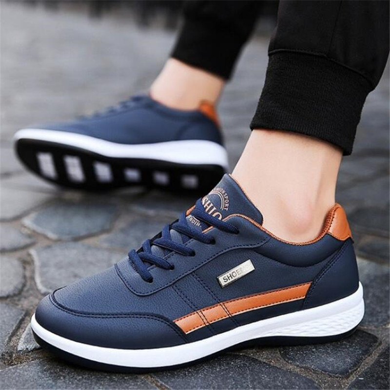 New spring and autumn men 39 s shoes fashion men 39 s sneakers casual skid shoes with men 39 s casual shoes sportsrunning in Men 39 s Casual Shoes from Shoes