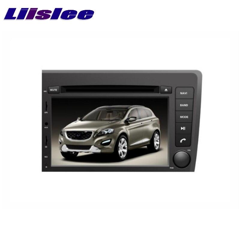 For VOLVO S60 V70 2001~2008 LiisLee Car Multimedia TV DVD GPS Audio Hi Fi Radio Stereo Original Style Navigation NAVI