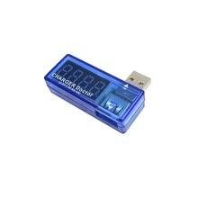 Цифровой вольтметр USB Мобильный зарядный ток тестер напряжения метр мини USB зарядное устройство Доктор Вольтметр Амперметр