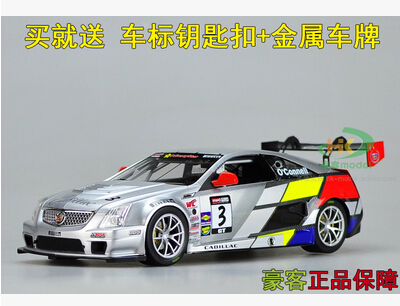 Cadillac CTS Rally 1:18 Racing kids toy car model Alloy metal diecast original collection gift boy sports car supercar  недорого