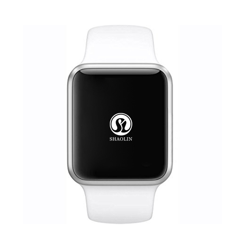 Relógio inteligente série 4 bluetooth smartwatch para android phone apple iphone 6 7 8 x suporte de relógio facebook whatsapp