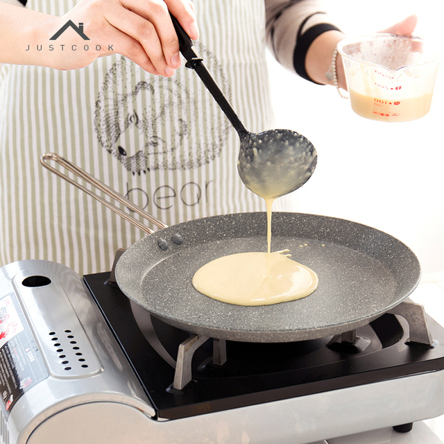 De comidas, 20/24/28CM sartén no-Stick Sartenes para parrilla de huevo sartén para pancakes utensilios de cocina sartenes