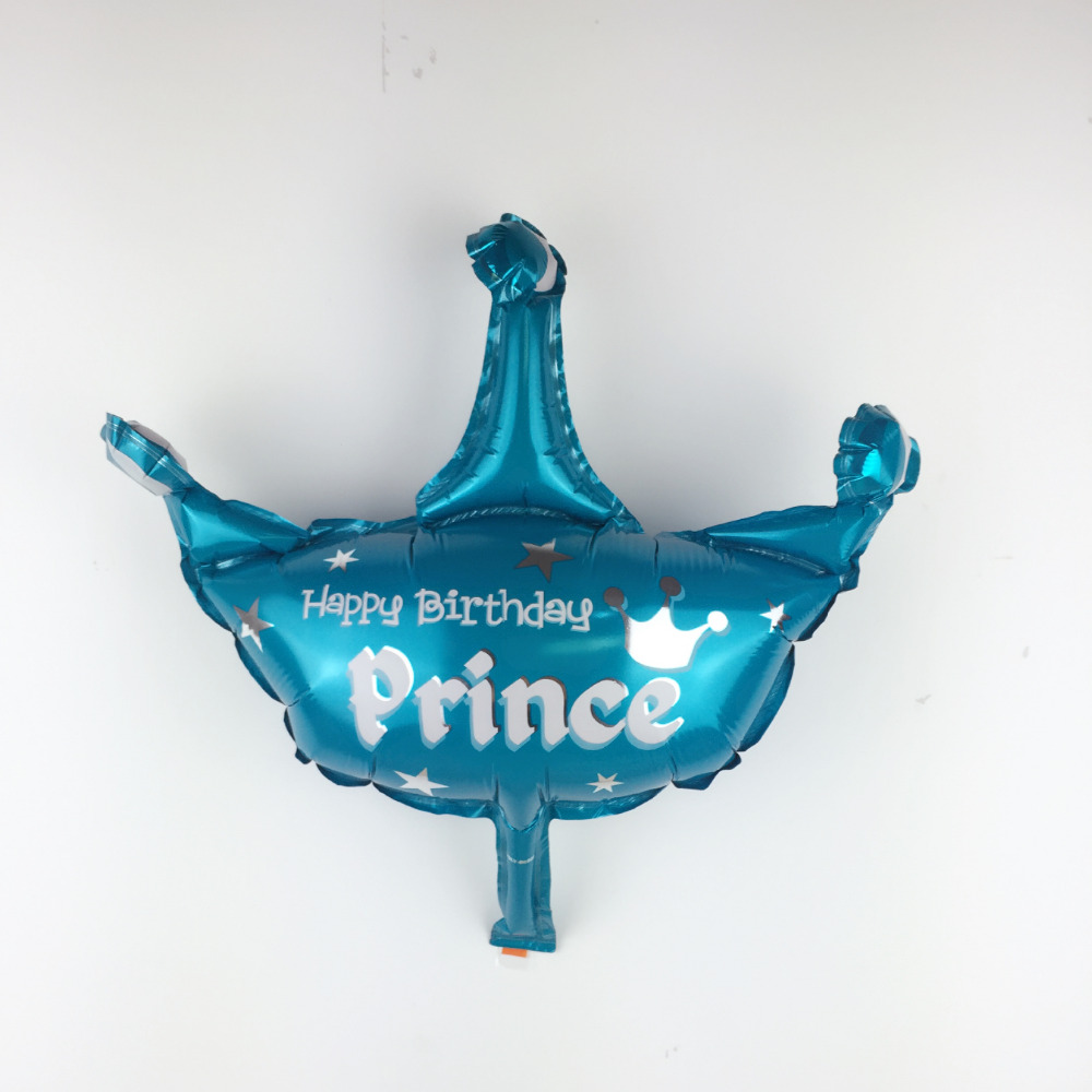 Free Shipping New Minnie Crown Aluminum Balloons Children Toy Party Birthday Balloon Wholesale