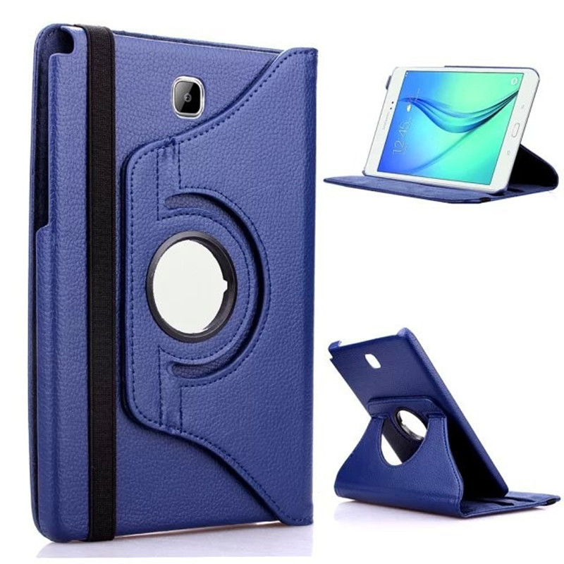 Case For Samsung Galaxy Tab A 9.7T550 T555 Tablet Case Cover PU Leather Screen Protector Cover Stand For SM-T550 9.7 Inch Tablet