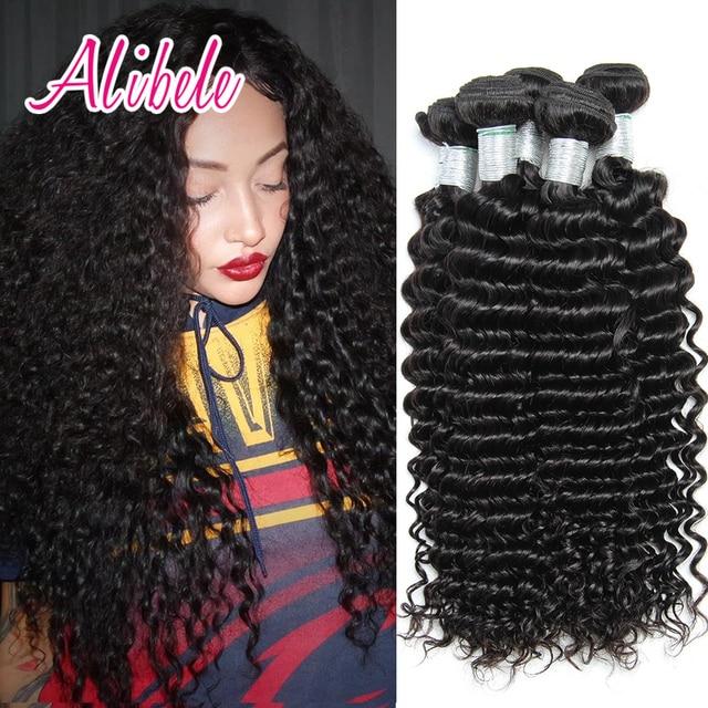 7a ali bele virgin hair malaysian curly hair 3 bundles malaysian deep wave human hair weaves unprocessed malaysian virgin hair