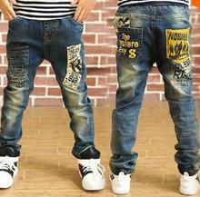 2015 chaude mode enfants jeans pour garçons, slim fit Coréenne enfants de pantalon, bébé garçons pantalon, enfants garçon jeans Livraison Gratuite