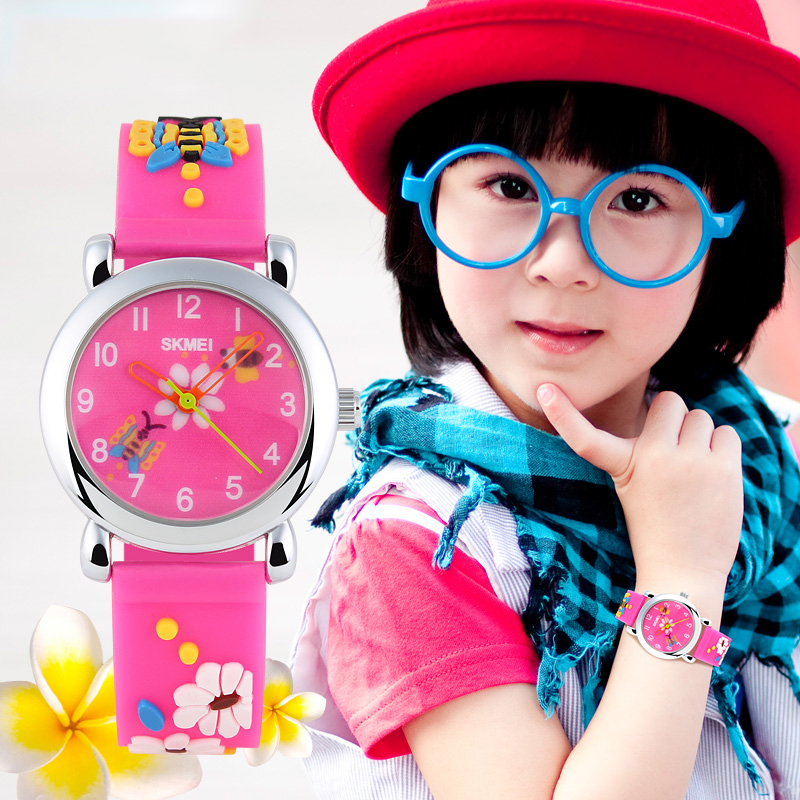 Skmei Children Watch Brand Fashion Casual watches Quartz Wristwatches Waterproof Jelly Kids Clock Boys girls Students Wristwatch splendid brand new boys girls students time clock electronic digital lcd wrist sport watch
