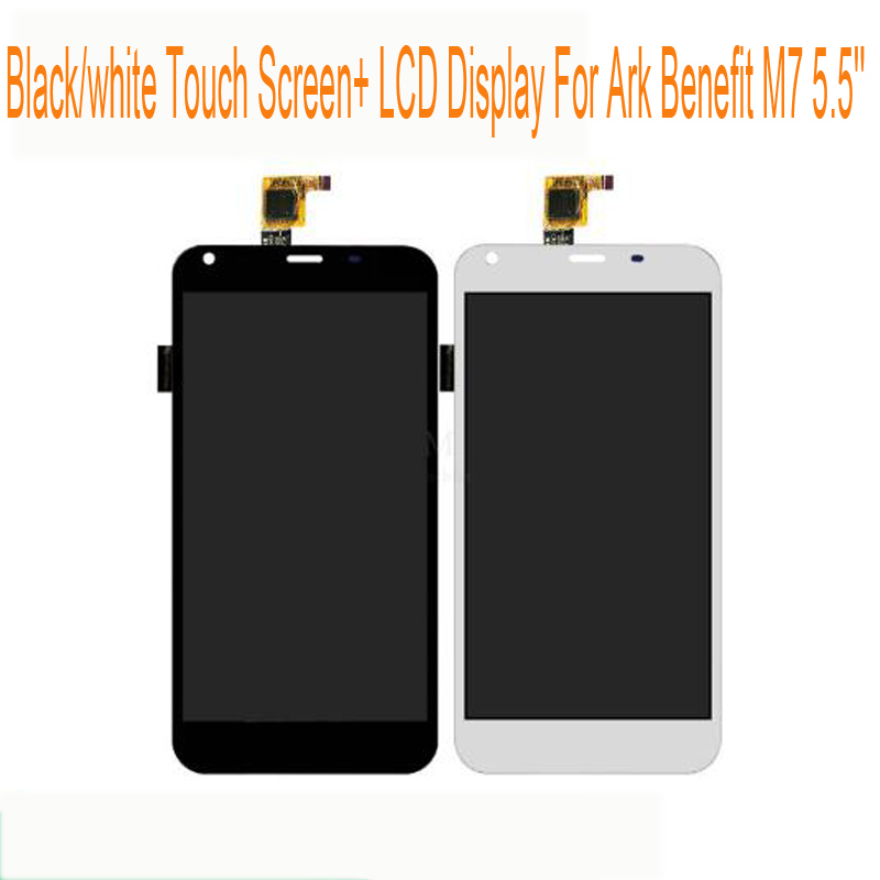 Black White Touch Screen LCD Display For ARK Benefit M7 5 5 Digitizer Senor Touch Panel