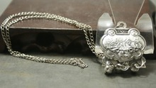 Free delivery of old Miao Silver Pendant