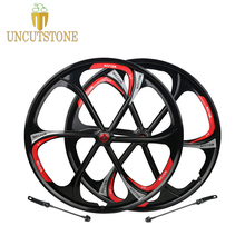 цена на mountain bike wheel 26 Cassette 7/8/9/10 Speeds magnesium alloy Mountain Bicycle Wheel parts bike rims