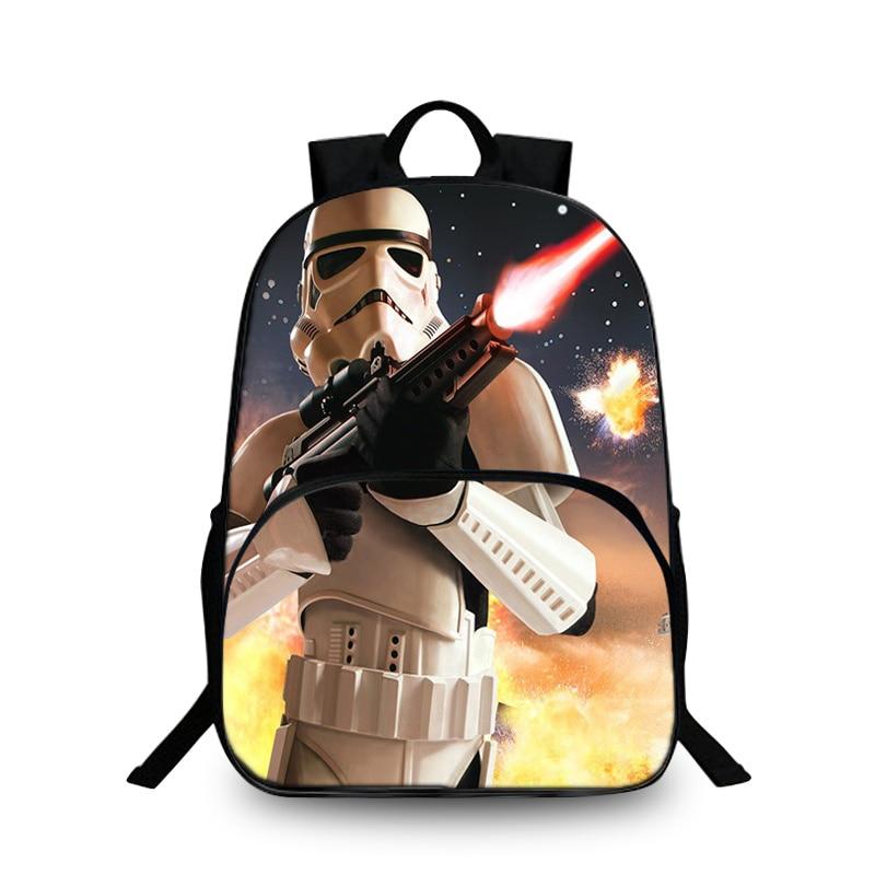 Baobeiku 3D Рюкзаки Star Wars печати Сумки для детей школьная дети рюкзак для ноутбука д ...