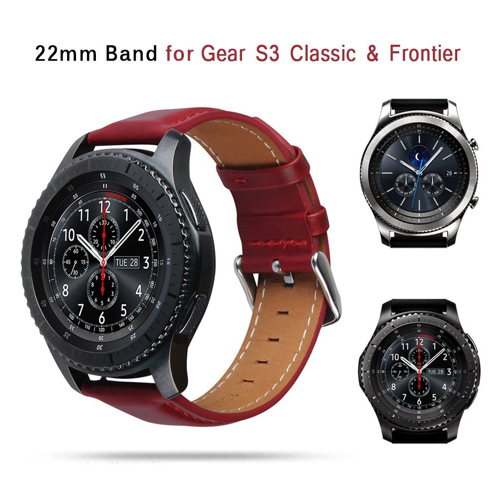 TOROTOP 17 NEW Wristband FOR SAMSUNG GEAR S3 CLASSIC WATCH BAND Smart Accessory Leather Strap Gear S3 Classic frontier BANDS 21