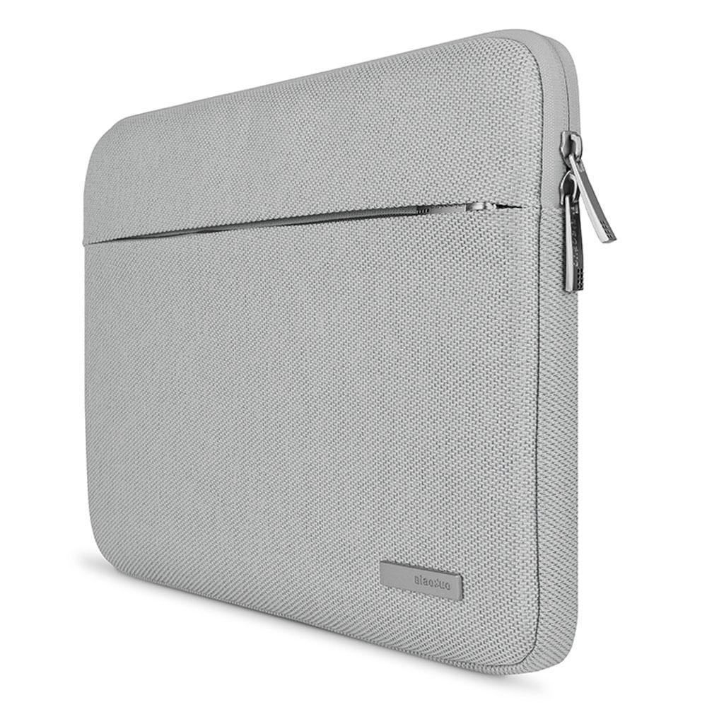 Women Man Laptop Bag Sleeve for Xiaomi air 12 13 New Notebook Soild Zipper Carrying Case for Macbook 11.6 12 13.3 Inch Cover
