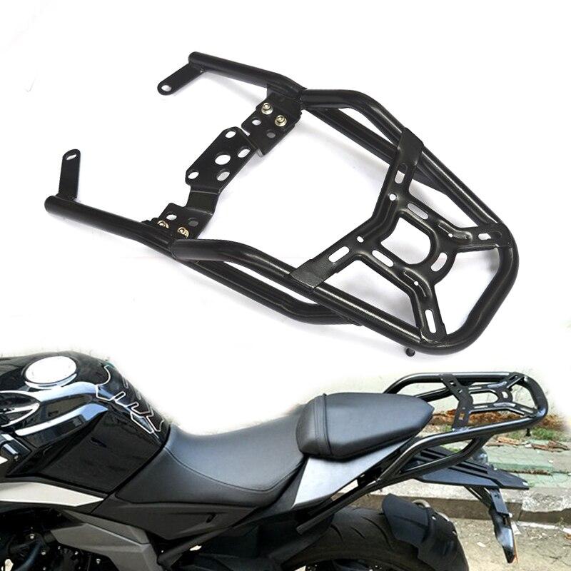 Peças de moto Para MOTO CF 400NK 650NK 16-18Luggage Bar Rack de Acessórios Da Motocicleta Traseiro Cauda Asa Prateleiras Titular Braço Guarda