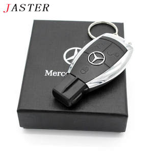 JASTER creative plastic U disk Mercedes Car key USB + BOX USB 2.0 4 GB/8 GB/16