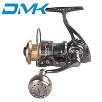 DMK Spinning Fishing Reel Saltwater 800 5000 9+1BB 5.2:1 Spinning Wheel Carp Fishing Tackle Drag 10 16KG Carretilha De Pesca