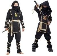 Kids Adult Ninja Costume Boys Girls Women Men Children S Day Party Warrior Stealth Assassin Halloween
