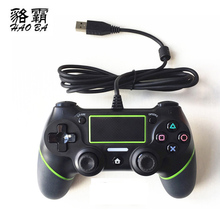 Wired Gamepad For Playstation Dualshock 4 Joystick wired Gamepads PS4 Controller Multiple Vibration 1.8M Cable wired gamepad for ps4 controller for playstation 4 for dualshock 4 joystick gamepads for ps4 console for ps3