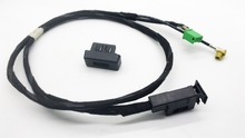 CHESHUNZAI  USB AMI Music Interface Harness Audio Cable 3G Cable Harness  for AUDI A4 A5 A6 2010+   Q5 Q7    4F0 035 727