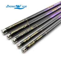 Best Quality Carbon Fiber Stream Hand Fishing Rod 3.6m-7.2m Ultra Light Feeder Carp Fishing Pole Fishing Tackle Lowest profit