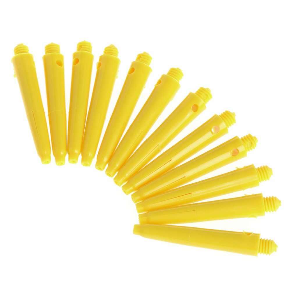 12 قطعة البلاستيك النايلون المسمار السهام ثبة مهاوي قصيرة ينبع استبدال 4 سنتيمتر 2BA قضيب دروبشيبينغ