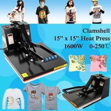 Ship from Germany 2000W 15 x 15 Clamshell Digital LCD Display Heat Press Transfer T