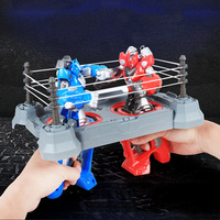 Double Player RC Battle Boxing Arena Robot Finger Remote control Battle Combat Robot Fighting Field Parent child Interactive Toy