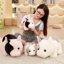 30/50cm Lovely Furry Simulation Pig Plush Toys Cute Soft Stuffed Animal Piggy Plush Dolls Appease Pillow for kids Girls Gifts