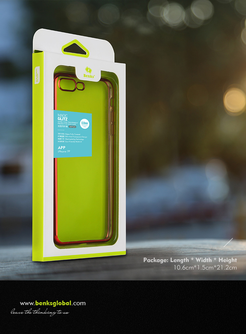 86314c69d3e5c for Apple iPhone 7  for Apple iPhone 7 Plus. Features  100% brand Benks  plating frame case ...