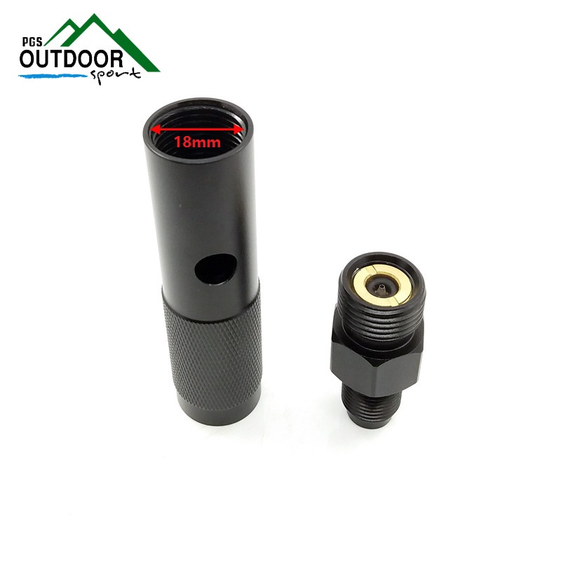 Image 3 - New Quick Change 12g CO2 Cartridge Adapter with 88g Bottle Threads for Airforce Airsoft Air Gun Rifle-in Paintball Accessories from Sports & Entertainment