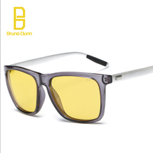 Women Men's Aluminum Magnesium Car Drivers Day Night Vision Goggles Sunglasses Driving Glasses oculos de sol ray