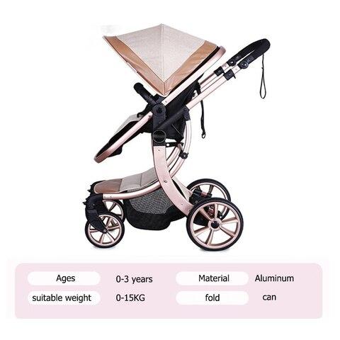 carro do bebe 36 ce seguranca alta qualidade multifunctio