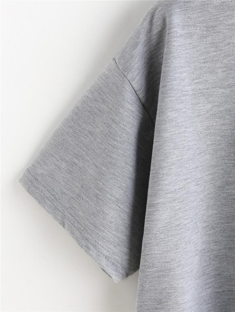 HTB1JOQVQFXXXXbvXFXXq6xXFXXX7 - Women Summer T-shirts Alien Embroidery PTC 103