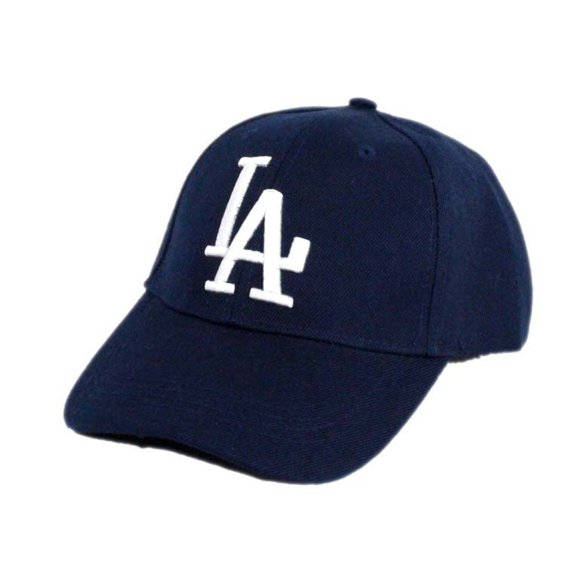 Embroidery 2019 New letter   Baseball     Caps   LA Snapback Dodgers Hip Hop bone Hats for Men Women Gorras Adjustable