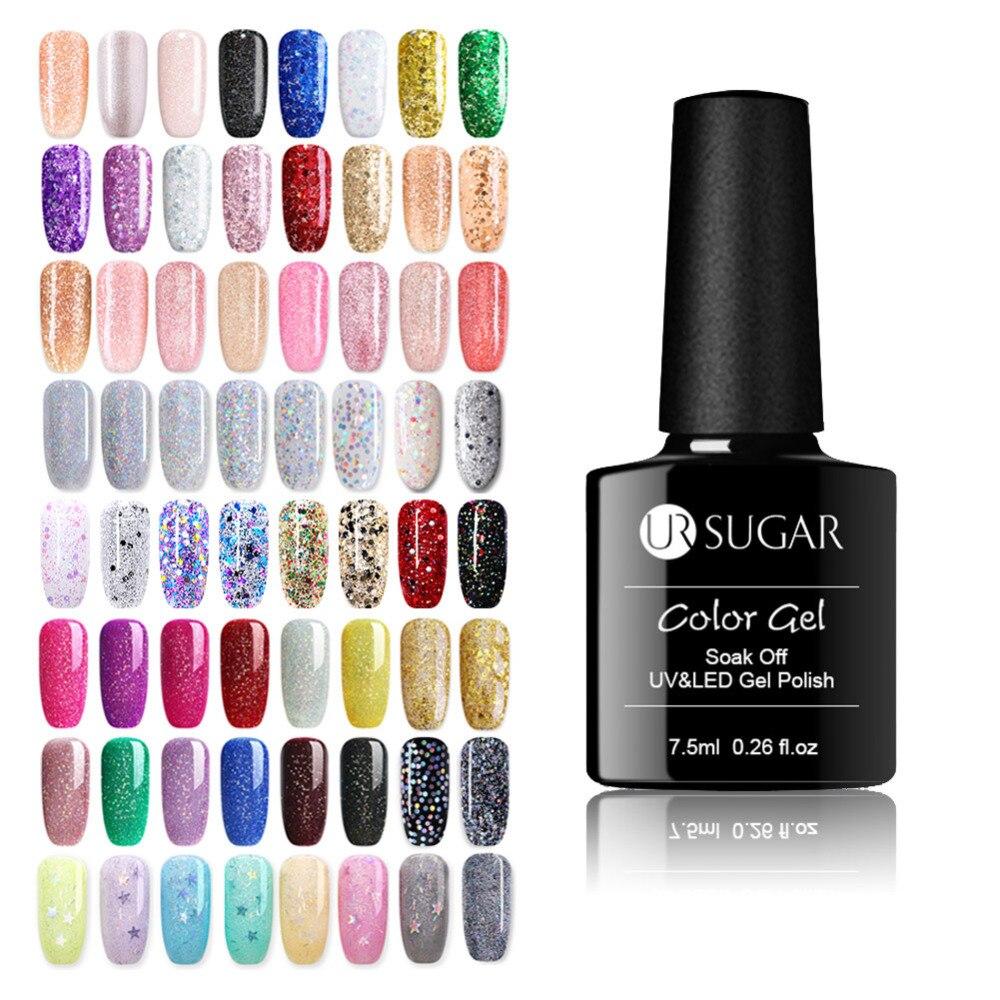 Aliexpress.com : Buy MEET ACROSS UV Nail Gel 3D Glitter