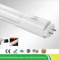 SZYOUMY 25pcs Lot 4ft 4feet CE LED T8 PIR Tube Light G13 2 Pin AC85 265V