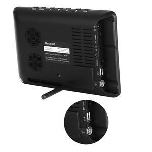 Image 5 - LEADSTAR 7 אינץ DVB T2 דיגיטלי אנלוגי טלוויזיה הטלוויזיה 800x480 ברזולוציה גבוהה תמיכה TF כרטיס USB אודיו