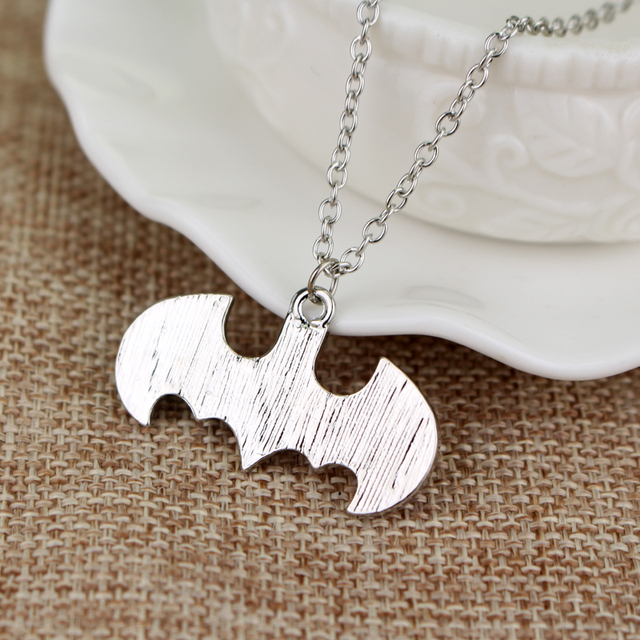 Batman Harley Quinn Logo Necklace & Pendant Black and Red